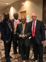 LEROY HENDRICKS (BD 42)*, JIMM PAULL (BD 42)*, WILLIE LA JONES (BD 12)*, EXEC DIR. OF IAABO TOM LOPES